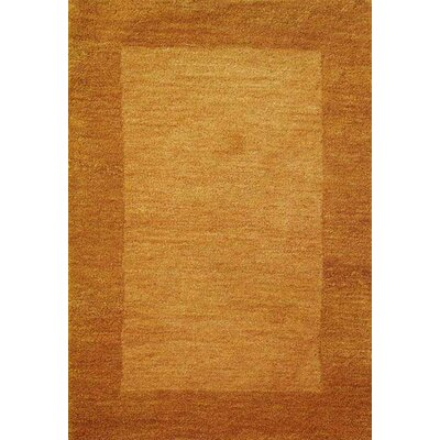 Henley Hand-Tufted Orange Bear Area Rug Rug Size: 5 x 8