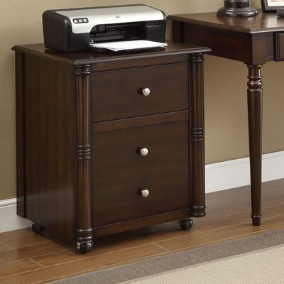 Jacqueline Mobile File Cabinet Finish: Walnut Product Picture 168