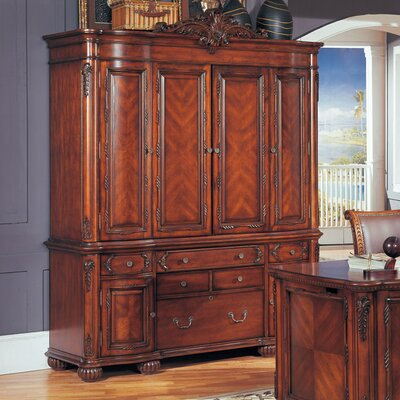 Angelina Credenza Hutch Product Photo