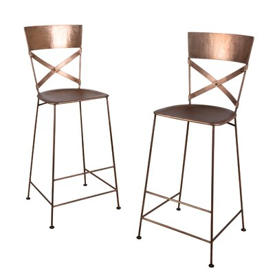 Dayton 30 Bar Stool Finish: Copper