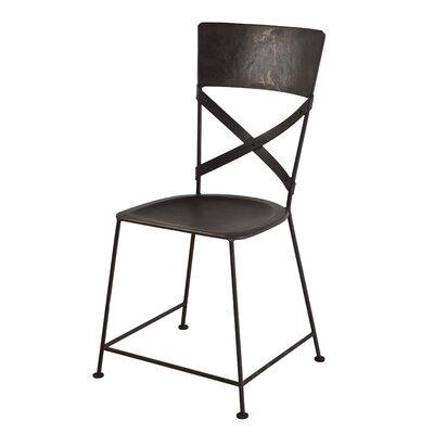 X-Back Dining Chair Finish: Zinc
