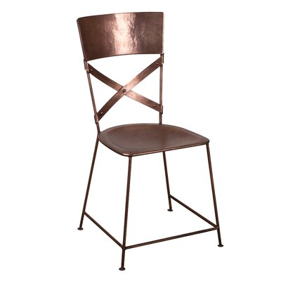 Image of X-Back Dining Chair Finish: Copper