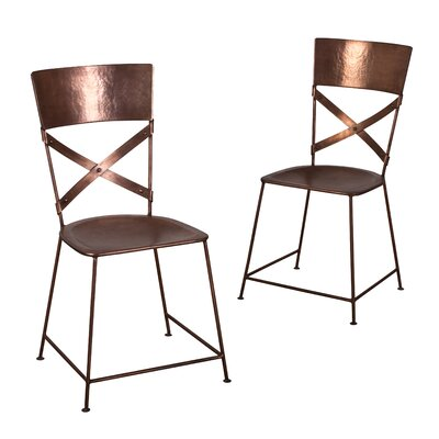 Dayton Side Chair Finish: Copper