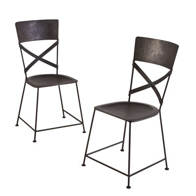 Dayton Side Chair Finish: Zinc