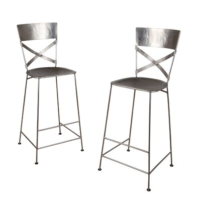 Dayton 30 Bar Stool Finish: Antique Nickel