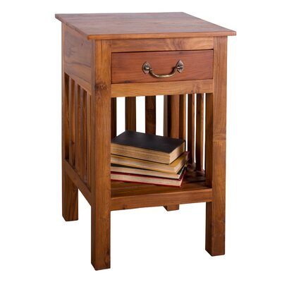 Noah1-Drawer Nightstand