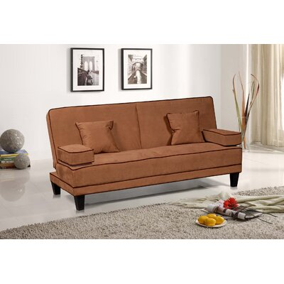 CST35660 26761709 CST35660 Wildon Home Microfiber Two Tone Piping Convertible Sofa