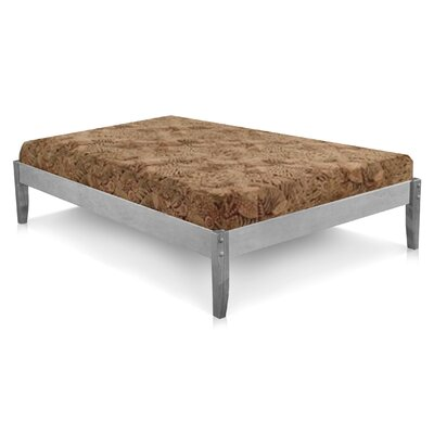 Platform Bed Size: Queen, Finish: Rustic Grey Stain