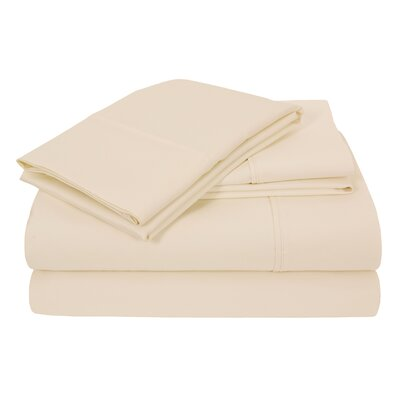 Elite Home Hotel Concierge Heavyweight 800 Thread Count 100% Cotton Sheet Set Size: Queen, Color: Ivory