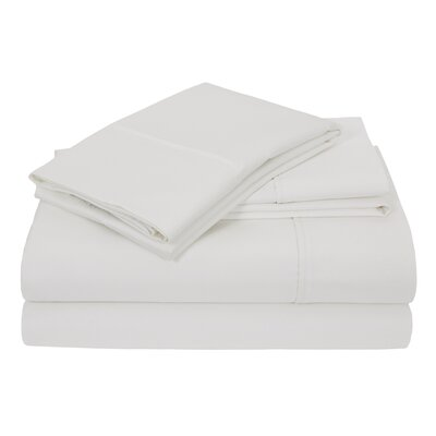 Elite Home Hotel Concierge Heavyweight 800 Thread Count 100% Cotton Sheet Set Size: Queen, Color: White