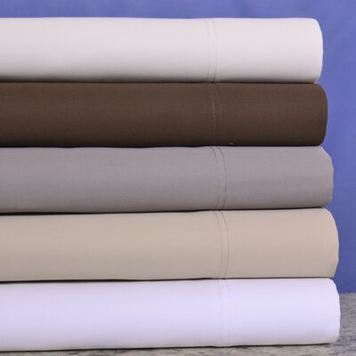 Royalty Heavyweight 1200 Thread Count 100% Cotton Sheet Set Color: Chocolate, Size: California King