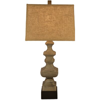 Resin Baluster 30 Table Lamp
