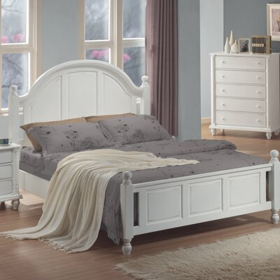 In store financing Briana Panel Bed Size: Queen...