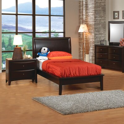 Bad credit financing Applewood Platform Bed in Rich Deep...