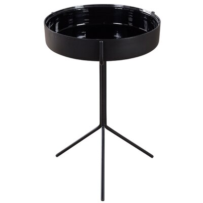 Double Bowl End Table