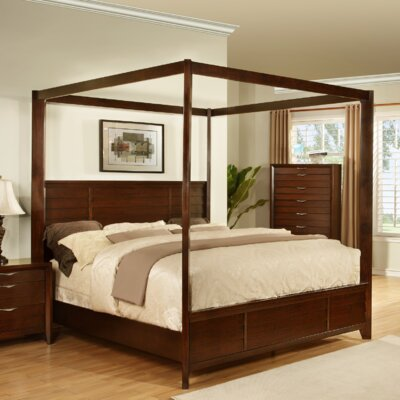 Lancaster Canopy Bed Size: Queen