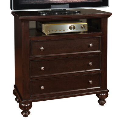 Asher 3 Drawer Media Chest