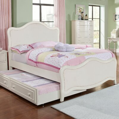 South Shore Upholstered Panel Bed Size: Full