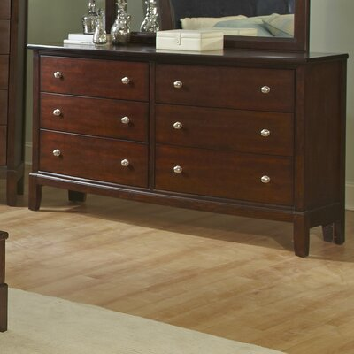Denver 6 Drawer Dresser