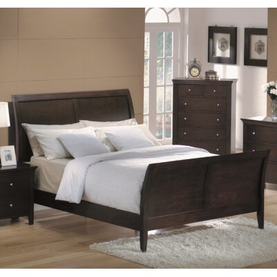 Montgomery Sleigh Bed Size: Queen
