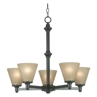 Tallow 5-Light Candle-Style Chandelier