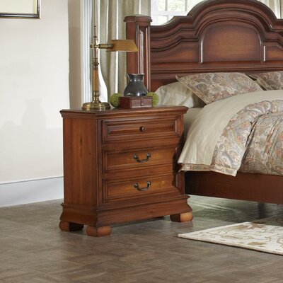 Nottingham 3 Drawer NightStand