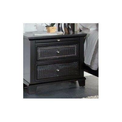 Kay 2 Drawer Nightstand
