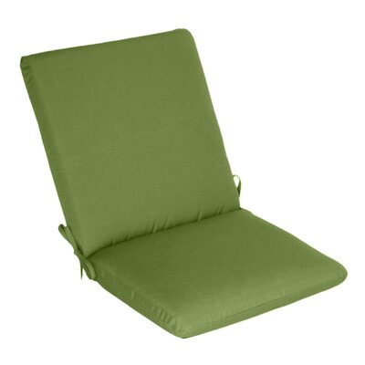 Outdoor Sunbrella High Back Cushion Fabric: Ciantro