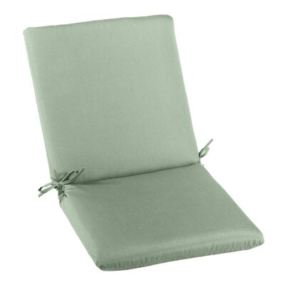 Outdoor Sunbrella High Back Cushion Fabric: Spa