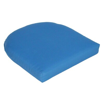 Outdoor Sunbrella Seat Cushion Fabric: Capri