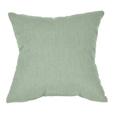 Outdoor Sunbrella Throw Pillow Fabric: Spa