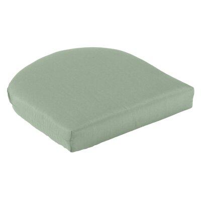 Outdoor Sunbrella Seat Cushion Fabric: Spa
