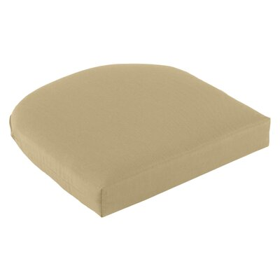 Outdoor Sunbrella Seat Cushion Fabric: Sand