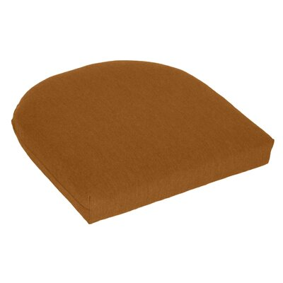 Outdoor Sunbrella Seat Cushion Fabric: Teak