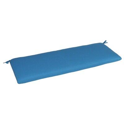 Outdoor Sunbrella Bench Cushion Fabric: Capri