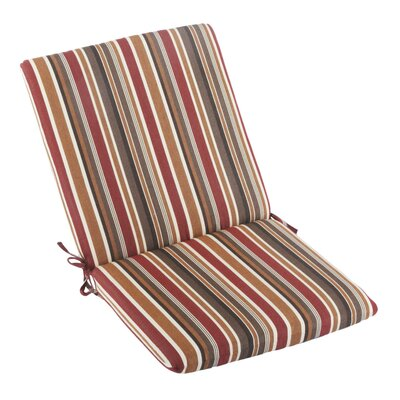 Outdoor Sunbrella High Back Cushion