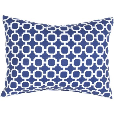 Ashburton Indoor/Outdoor Throw Pillow Color: Blue