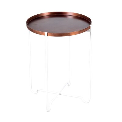 Beatrice End Table Size: 24 H x 19 W x 19 D