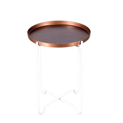 Beatrice End Table Size: 20 H x 16.5 W x 16.5 D