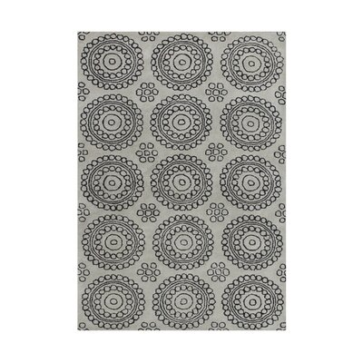 Allivia  Hand-Tufted Gray Area Rug