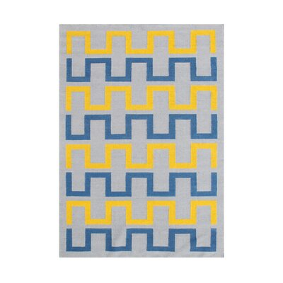 Allisyn  Hand-Tufted Gray Area Rug