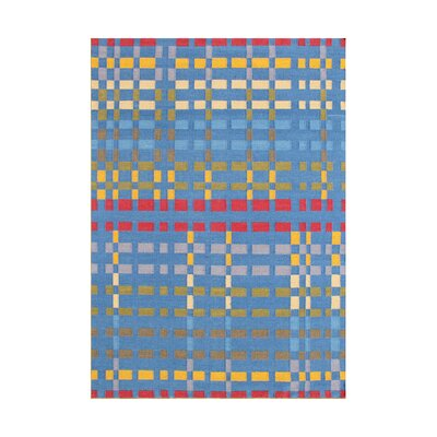Akeelah  Hand-Tufted Blue Area Rug