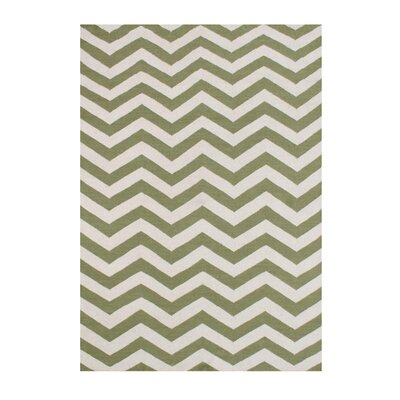 Althiaa  Hand-Tufted Green Area Rug