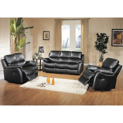 BR8852S-BLK Wildon Home Living Room Sets