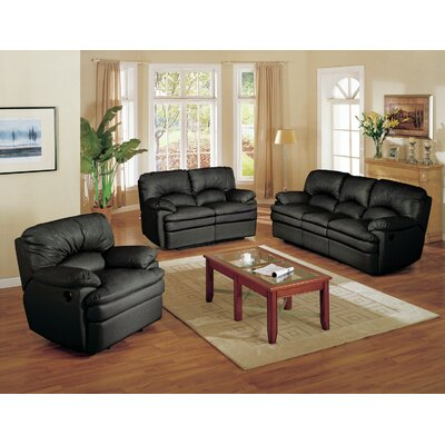 HN6600S-BLK Wildon Home Living Room Sets