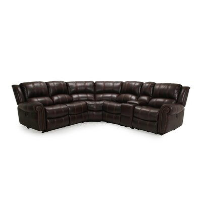 CST39185 28021579 Wildon Home Burgundy Sectionals