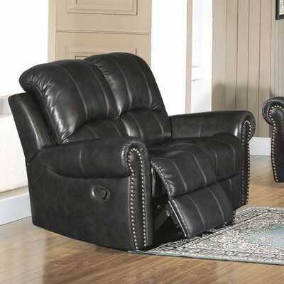 CST39144 28021513 CST39144 Wildon Home Gretna Top Grain Leather Reclining Loveseat
