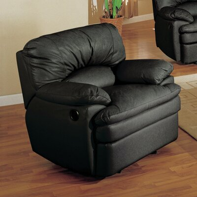 Haines Top Grain Leather Recliner