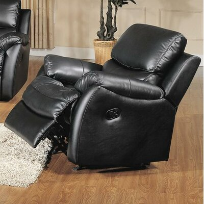 Brett Top Grain Leather Rocker Recliner