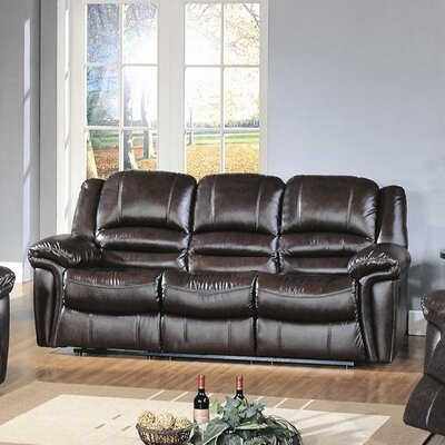 CST39159 28021541 CST39159 Wildon Home Sutton Top Grain Leather Reclining Sofa